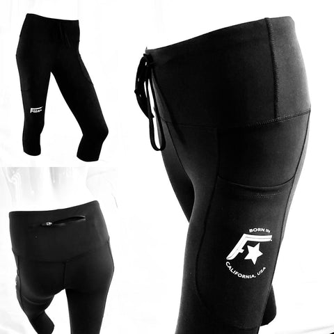 Fitter™ Black or Reflective Leggings