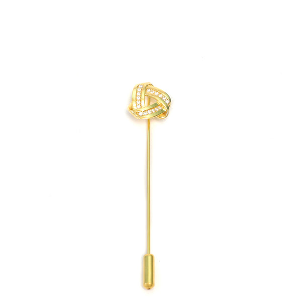 Endless Knot Lapel in Stick Pin
