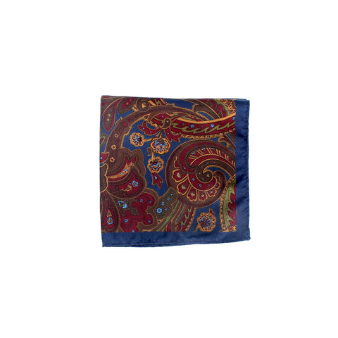 Ceremony Paisley Pocket Square, Multi-Tone