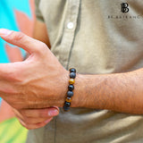 Mens Bracelet Mens accessories Fashion jewellery Gift for him beaded bracelet