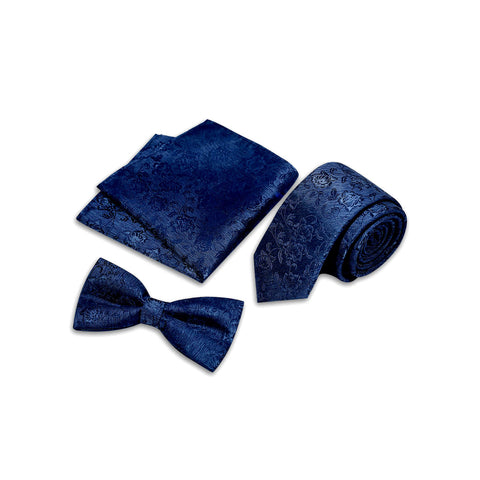 Floral Buzz Suit Accessories Set, Royal Blue