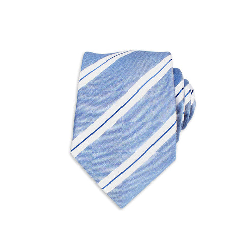 Formal Silk Tie, Powder Blue