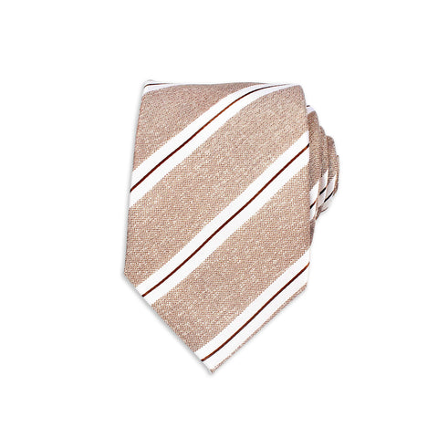 Formal Silk Tie, Brown