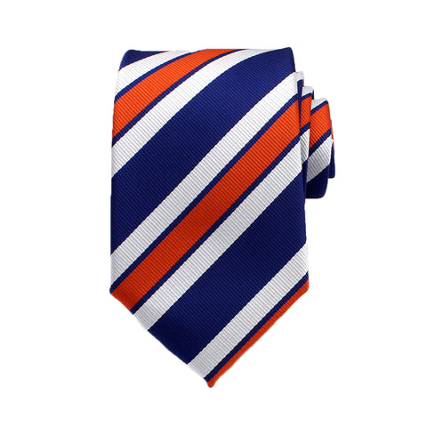 Color Rich Striped Neck Tie