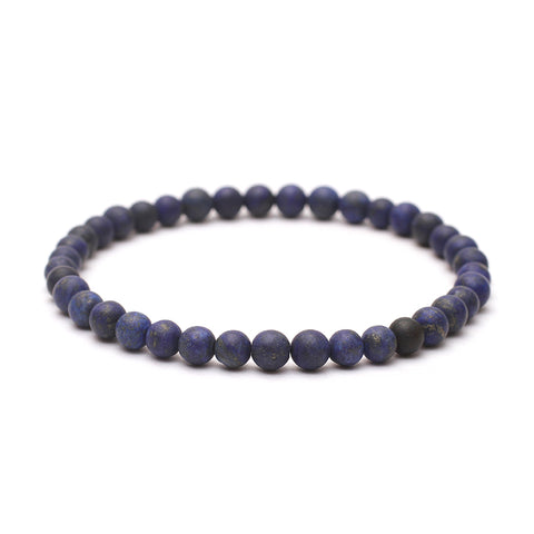 Plain 6mm Beaded Bracelet