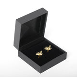 Honey Bee Cufflink Set, in Gold Plating