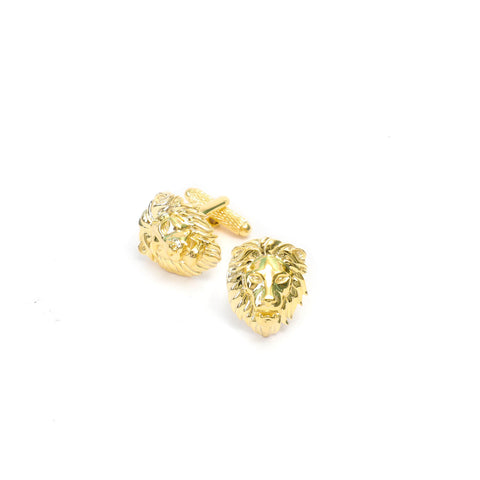 Poised Royal Lion Cufflink Set