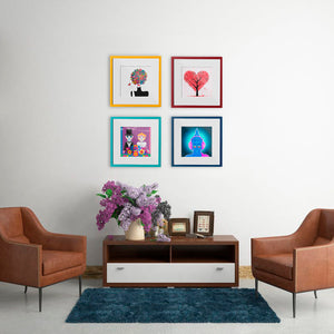 Tree of Hearts - W (Art Prints) Print ARtscapes-AR - ARtscapes