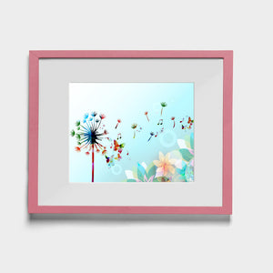 Dandelion Dreams - W (Art Prints) Print ARtscapes-AR - ARtscapes