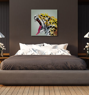 "Jaguar - W 24"" x 24"" / Frameless ARtscapes-AR - ARtscapes"