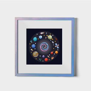 Out of this World - W (Art Prints)