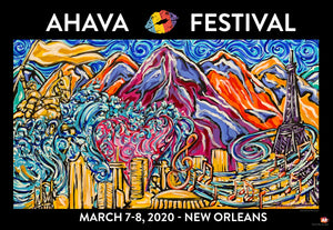 Ahava Festival Official Animated/ 3D Poster ARtscapes-AR - ARtscapes