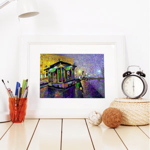 Fresh City Rain - W (Art Prints) Print ARtscapes-AR - ARtscapes