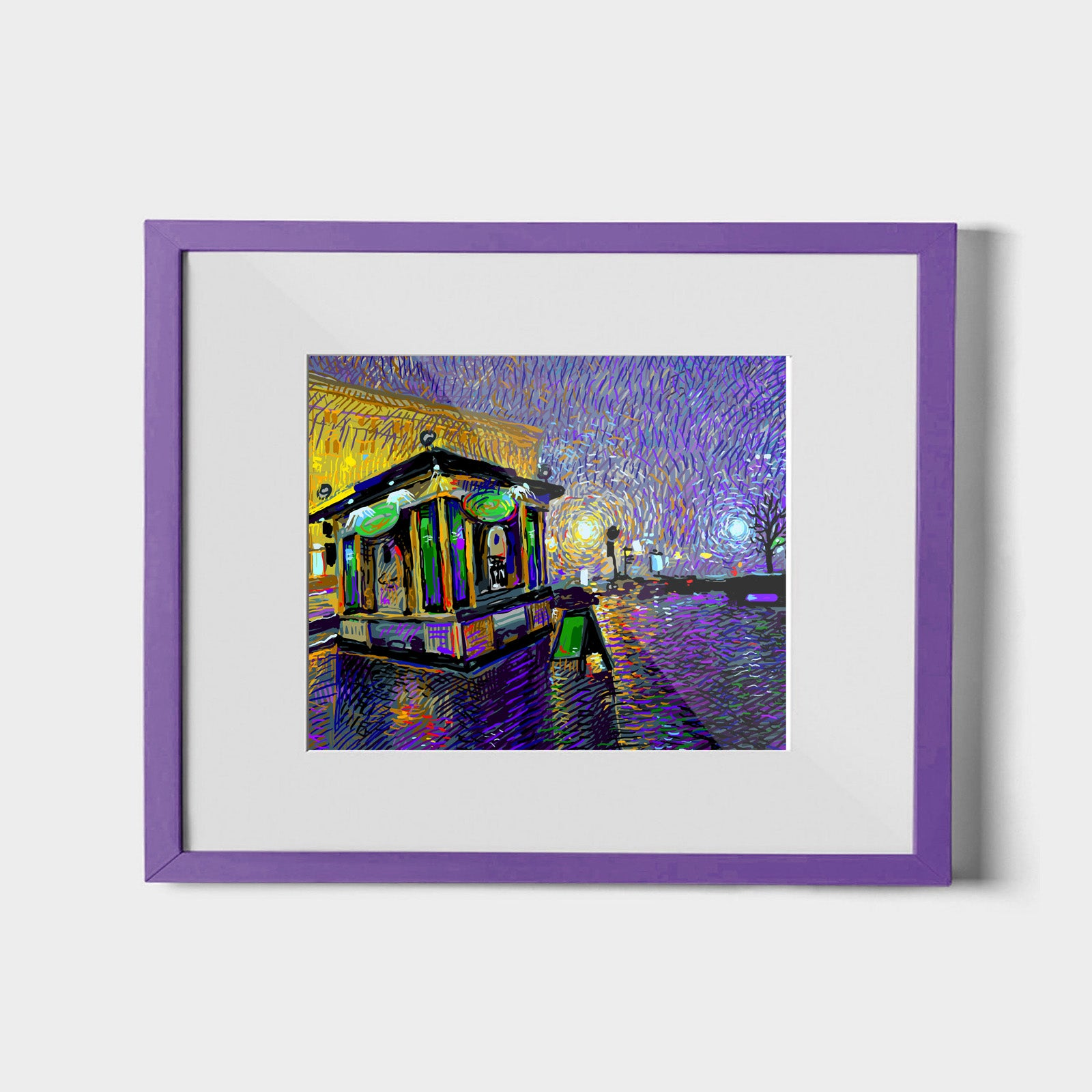 Fresh City Rain Print Standard ARtscapes-AR - ARtscapes