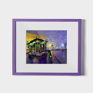 Fresh City Rain - W (Art Prints) Print Standard ARtscapes-AR - ARtscapes