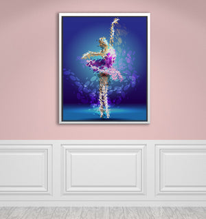 "Tiny Dancer - W 24"" x 30"" / Snow White ARtscapes-AR - ARtscapes"