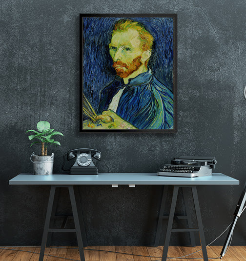 "Van Gogh - W 24' x 30"" / Slate Black ARtscapes-AR - ARtscapes"
