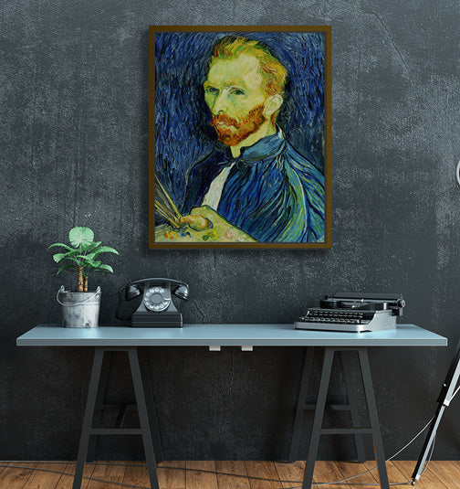 "Van Gogh - W 24"" x 30"" / Natural Wood ARtscapes-AR - ARtscapes"