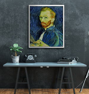 "Van Gogh - W 24"" x 30"" / Snow White ARtscapes-AR - ARtscapes"