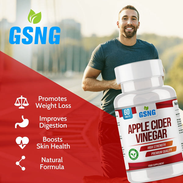 Apple Cider Vinegar Tablets - Get Slim No Gym