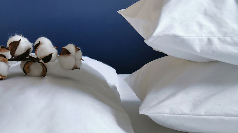 The Ultimate Crisp White Cotton Sheets are Truly British-Made
