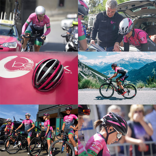 LEM Helmets Continues Partnership with Italian UCI Pro Women's Cycling Team BePink for 2020 Season