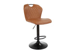 Franko Bar Stool Cognac