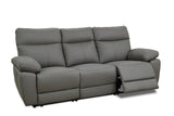 Lisbon Leather 3 Seater Recliner