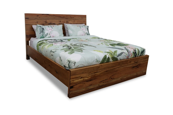 alinga bed frame marri timber