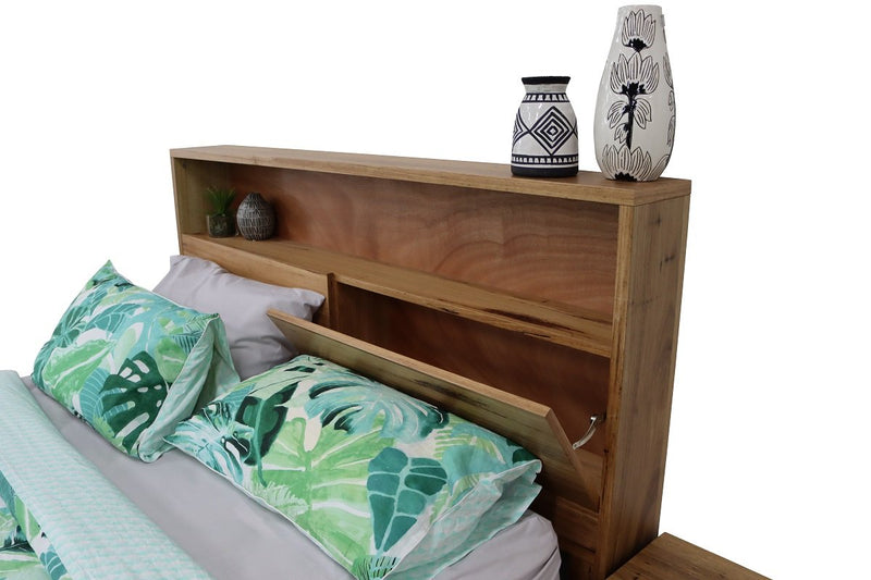 Tuscany Bookend Bed Frame