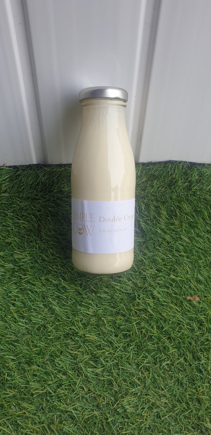 Simple Cow Double Cream
