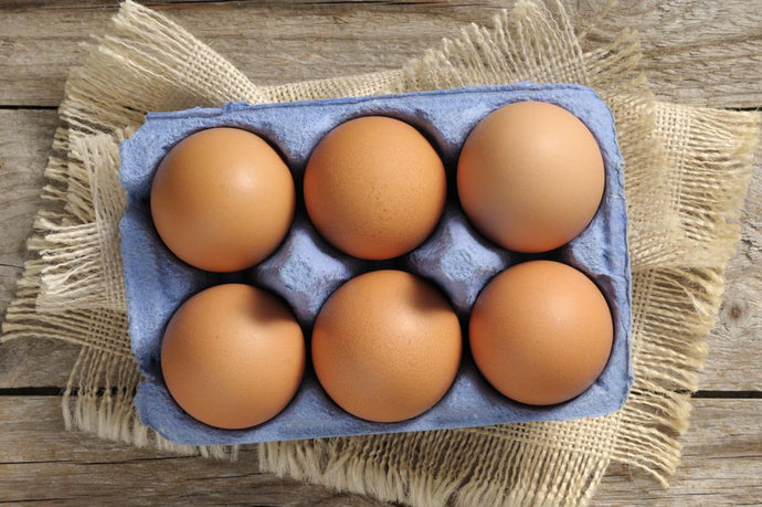 1/2 DOZEN FREE RANGE LOCAL EGGS