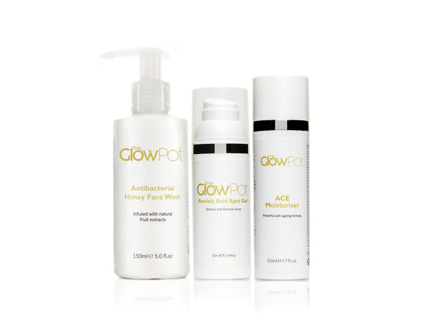 3 Step Skincare Kit,  - The Glow Pot