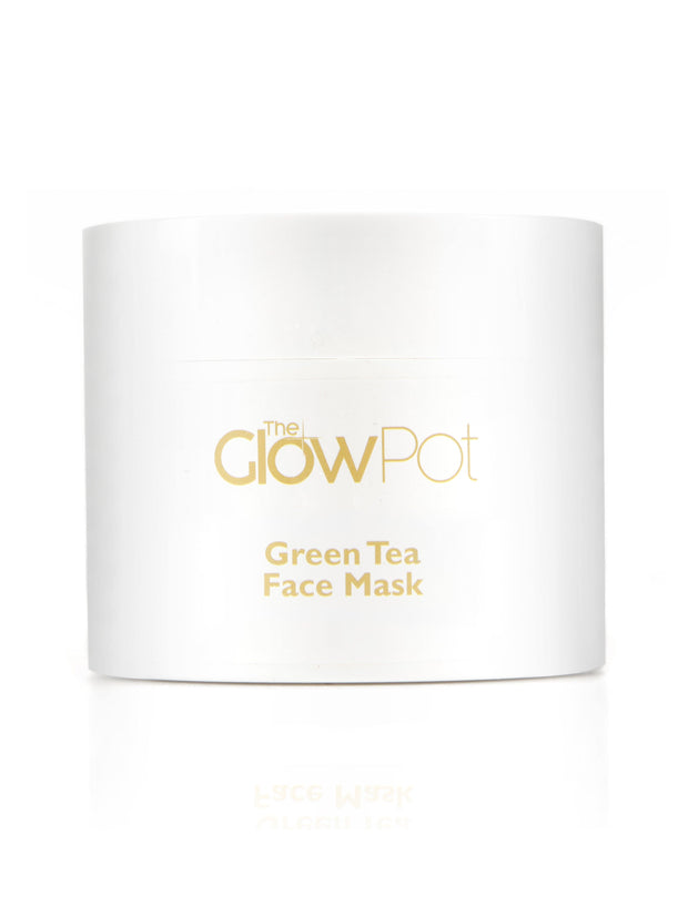 Green Tea Clay Mask, Face Mask - The Glow Pot