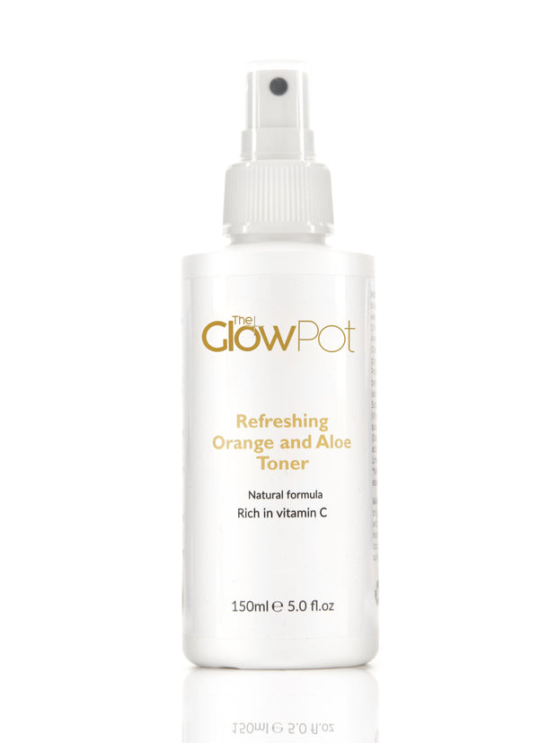 Refreshing Orange and Aloe Toner - The Glow Pot