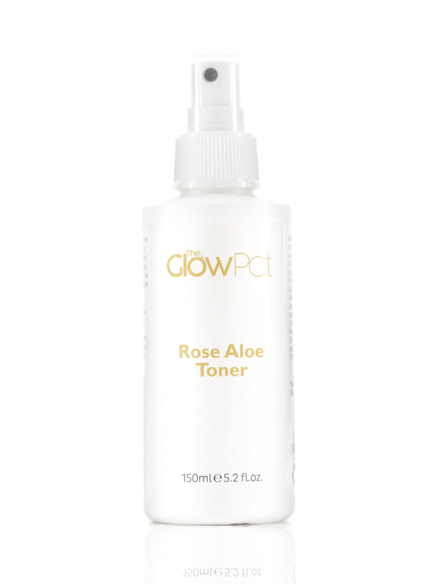 Rose Aloe Toner - The Glow Pot