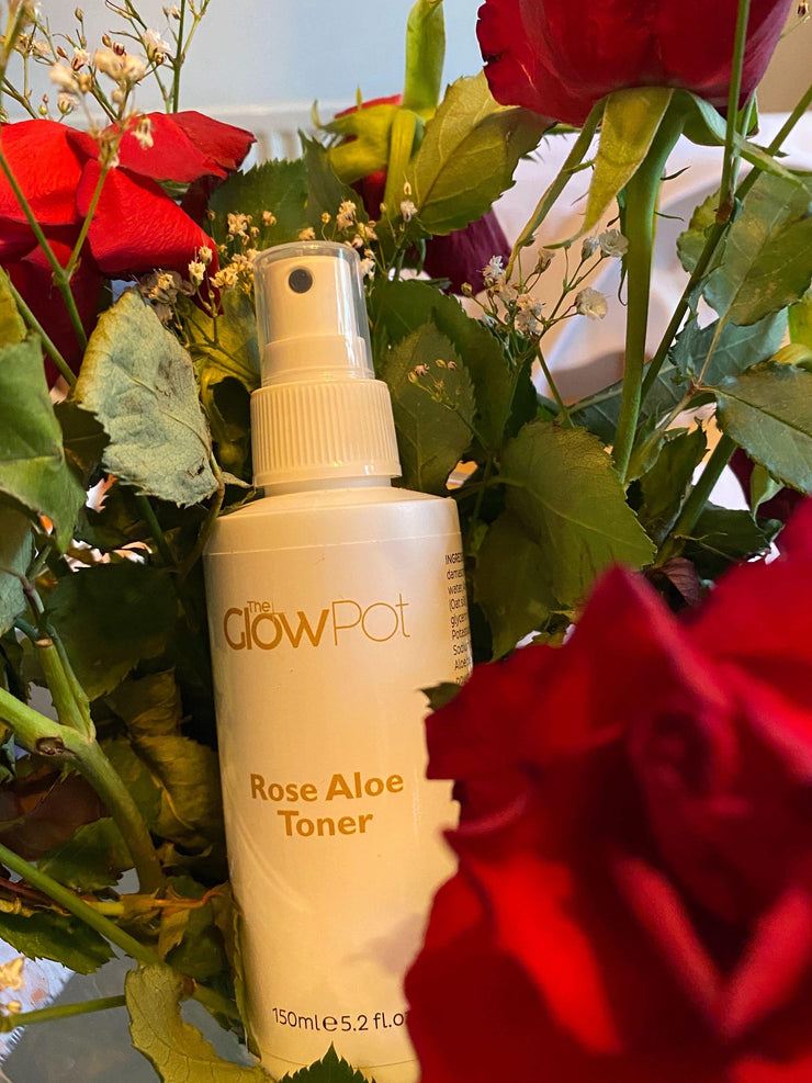 Rose Aloe Toner, Toner - The Glow Pot