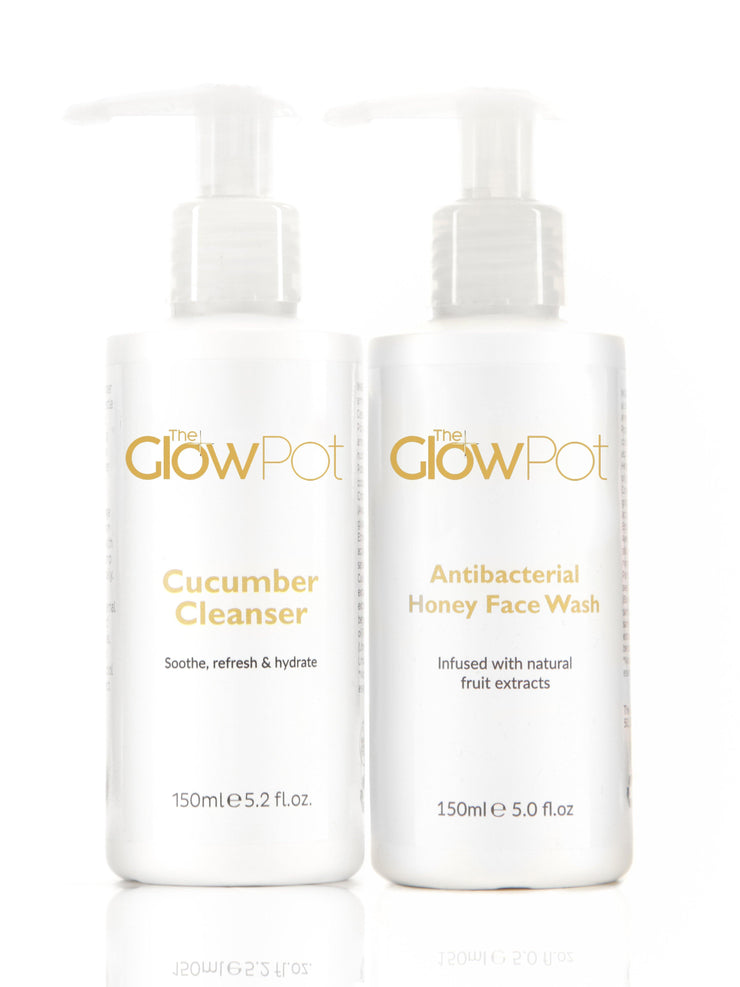 The Wash and Cleanse Set - The Glow Pot