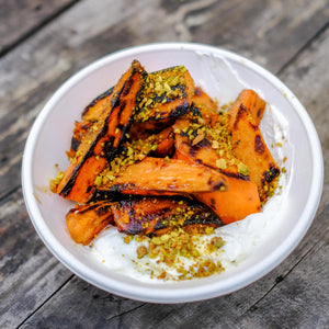 Caramelised Sweet Potato (V)