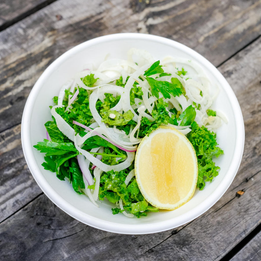 Fennel, Kale & Lemon Slaw (V/GF/DF)