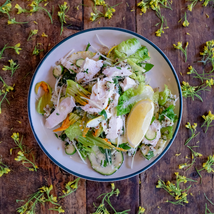 Grilled Free Range Chicken Salad