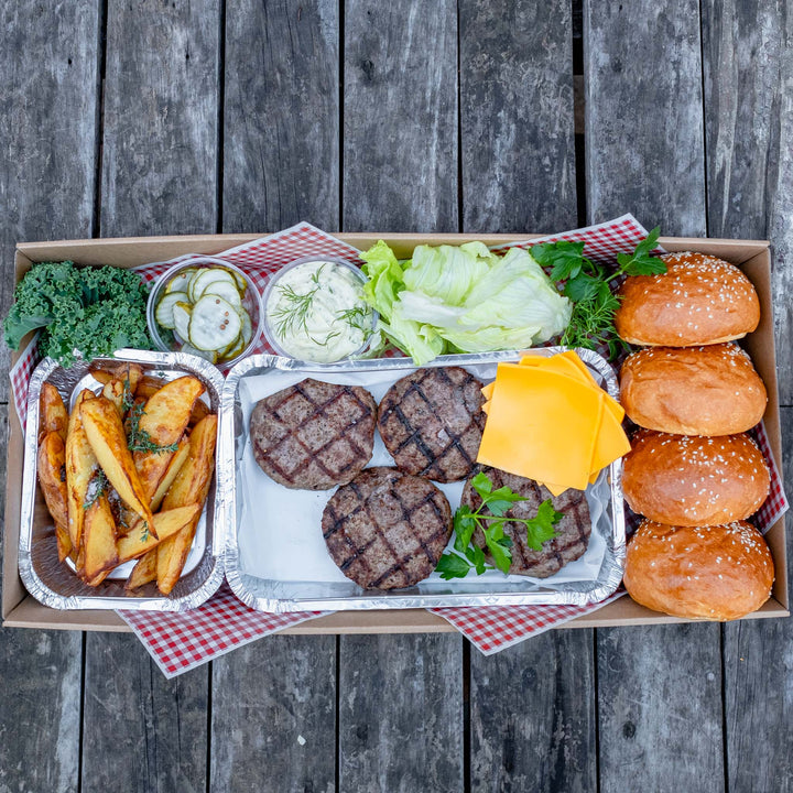 Beef Burger Pack