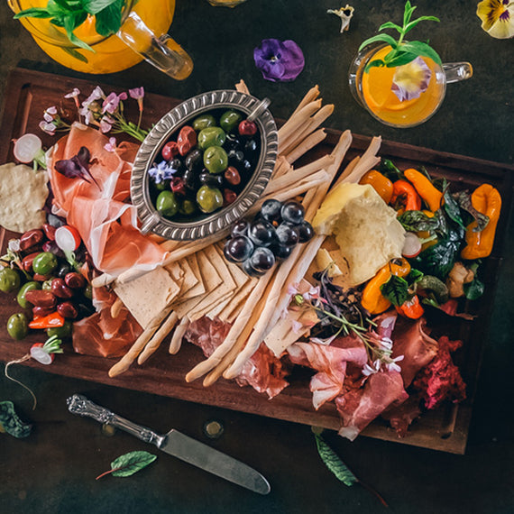 The Grounds Catering Antipasto Platter - Presented Packaging Option