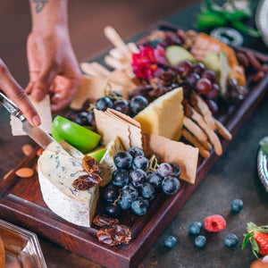 The Grounds Catering Cheese Platter - Presented Packaging Option