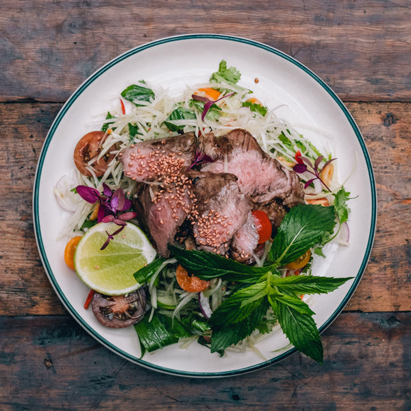 The Grounds Catering Thai Beef Salad