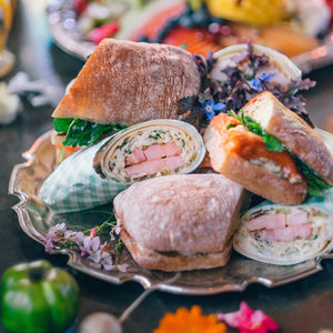 The Grounds Catering Assortment of Mixed Sandwiches & Wraps - Presented Packaging Option