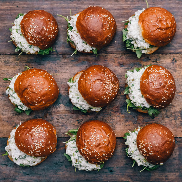 The Grounds Catering Crab Sliders