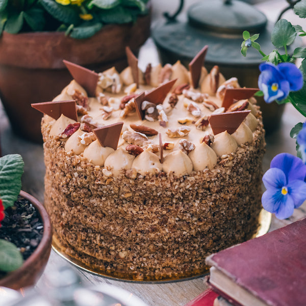 The Grounds Catering | Caramel Chiffon Cake
