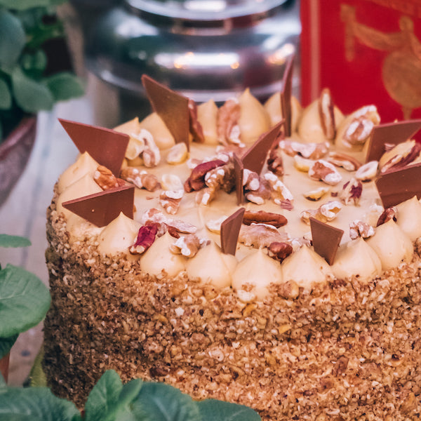 The Grounds Catering | Caramel Chiffon Cake 2