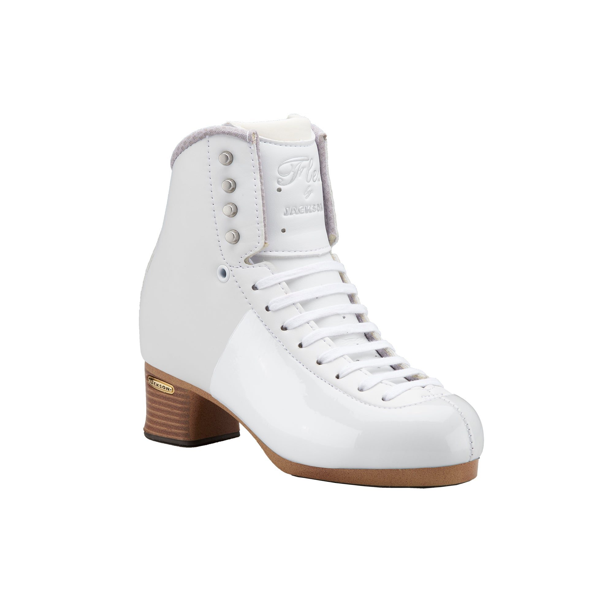 Jackson Flex 2020 White Figure Skate Boot
